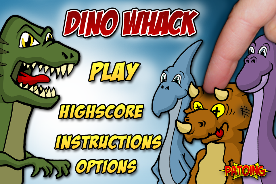 Screenshot Dino Whack