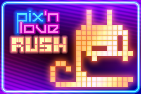 Screenshot Pix'n Love Rush DX iPad Review