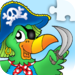 Pirates - Jigsaw Puzzle Game for Kids